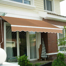 finest selection f8e84 fba44 XtremepowerUS X6072-73 Retractable Patio Awning - Beige for ...