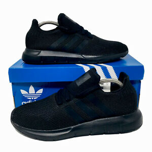 Adidas-Originals-Swift-Run-Men-s-Size-8-5-Running-Sneakers-Black-Casual-Shoes