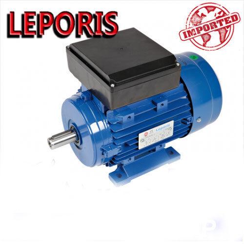 1 HP Motori elettrici V230M 2 POLI 2800 GG.MIN Forma B3 - Leporis B3