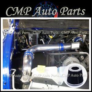 Cold Air Intake For Dodge Ram 1500 5 7 Hemi >> Details About Blue Black 2002 2007 Dodge Ram 1500 5 7 5 7l Hemi V8 Cold Air Intake Kitsystems