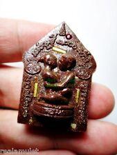 9992-THAI SOULMATE ATTRACT AMULET KHUN-PAEN LEKLAI YINT LP KEY 9 TAKUD GOLD