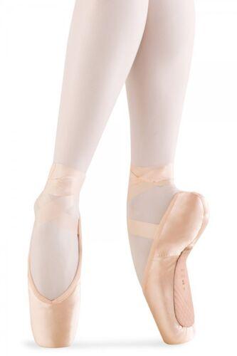 Fits Size 4.5-5 Pink Alpha Pointe Shoes Bloch S0104L Women/'s Size 2.5XX
