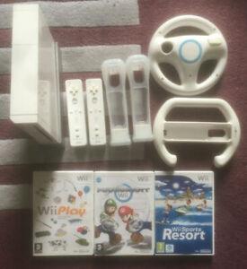 Nintendo Wii faisceaux-Mario Kart/Wii Play/Wii Sports/Wii Fit/Wii MUSIQUE