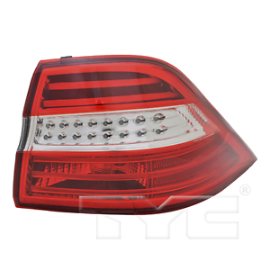 TYC Right Side LED Tail Light Assy for Mercedes M Class 2012-2015 Models