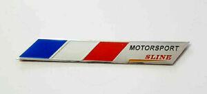 Sticker-Aufkleber-Emblem-Frankreich-France-Auto-Metall-selbstklebend-3D-Flagge