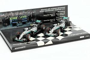 2-Car-Set-Mercedes-AMG-Petronas-F1-Team-Constructors-World-Champion-F1-2016-1-43