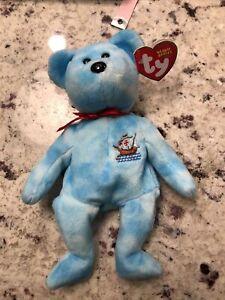 TY Beanie Babies Bear, SANTA MARIA, COLUMBUS SHIPS Bear, 2004