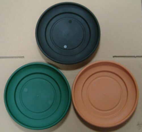 STRONG PLASTIC PLANT POT SAUCERS VARIOUS SIZES AND QUANTITIES