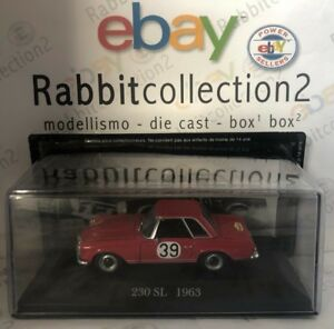 DIE-CAST-034-230-SL-1963-RALLY-N-39-034-MERCEDES-COLLECTION-SCALA-1-43-72