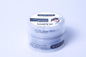 Morfose-Color-Haar-Wax-Silber-100ml-Hair-Wax-Silver-Haarwachs-mit-Farbe-Style