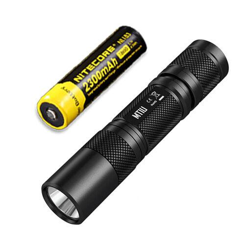 Nitecore MT1U 900mw 365nm Ultrapurple (UV)  LED Flashlight w NL183 Battery  online sale