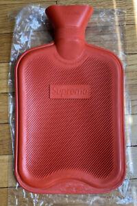 Supreme-Box-Logo-Hot-Water-Bottle-Rubber-Red-FW16-2016-Brand-New-Camp-Bogo