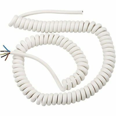 Spiral Cable H05BQ-F//Rubber device connection W2810 2x1mm; 5m Spiral Cable