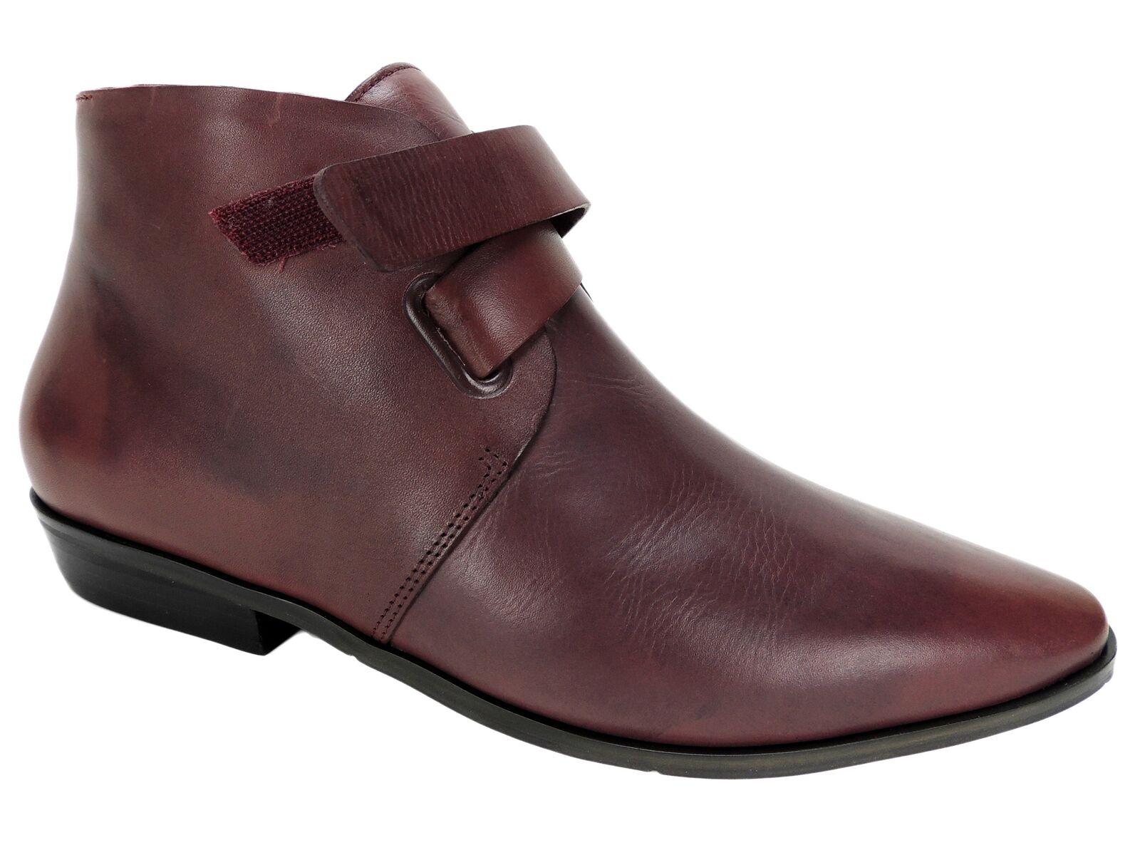 release date: ffbe3 9f8a1 ... ATELJE ATELJE ATELJE 71 Women s Soleh Ankle Boots Cordovan Vachetta Size  US 10 EU 41 4b0b6c ...