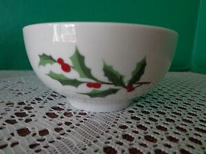 ... Martha-Stewart-Festive-Holly-Berry-Fruit-Dessert-Bowl- & Martha Stewart Festive Holly Berry Fruit Dessert Bowl Christmas ...