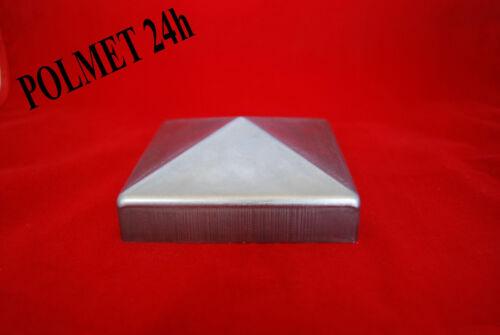 Pfostenabdeckung Pyramide 100x 100mm Art.-Nr KK.100-100 Pfostenkappe aus Stahl