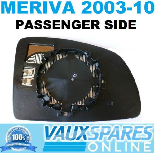 MERIVA WING 2003-10 MIRROR GLASS ELECTRIC HEATED PASSENGER NEAR SIDE CDTI DESIGN