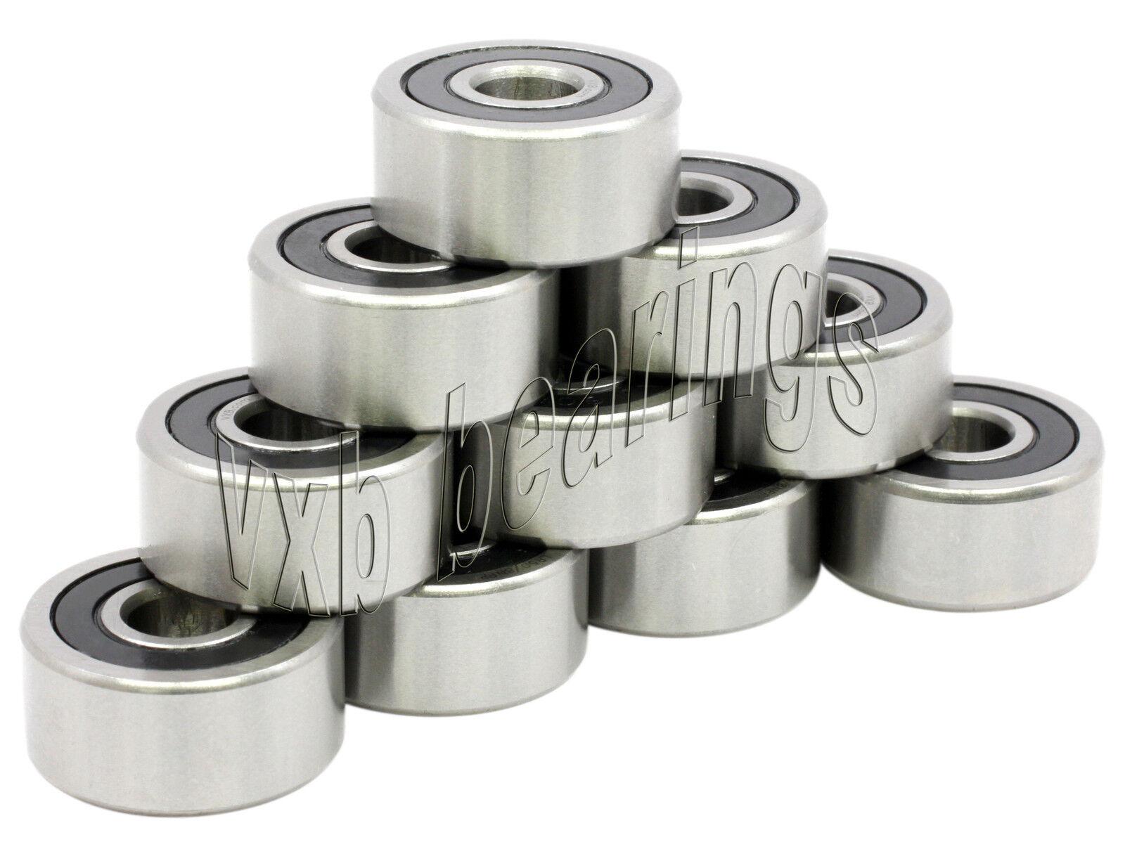 "10 Bearings 1616R5 Ball Bearing 1//2/"" Half inch 1616 R5"
