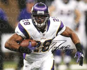 Adrian Peterson Vikings NFL Football signed 8X10 print photo poster autograph RP