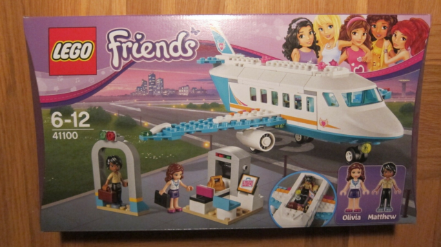 Lego Friends, 41100 Heartlake Private Jet, Heartlake…