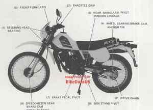 image is loading honda-mtx-50-1982-gt-supplementary-shop-manual-