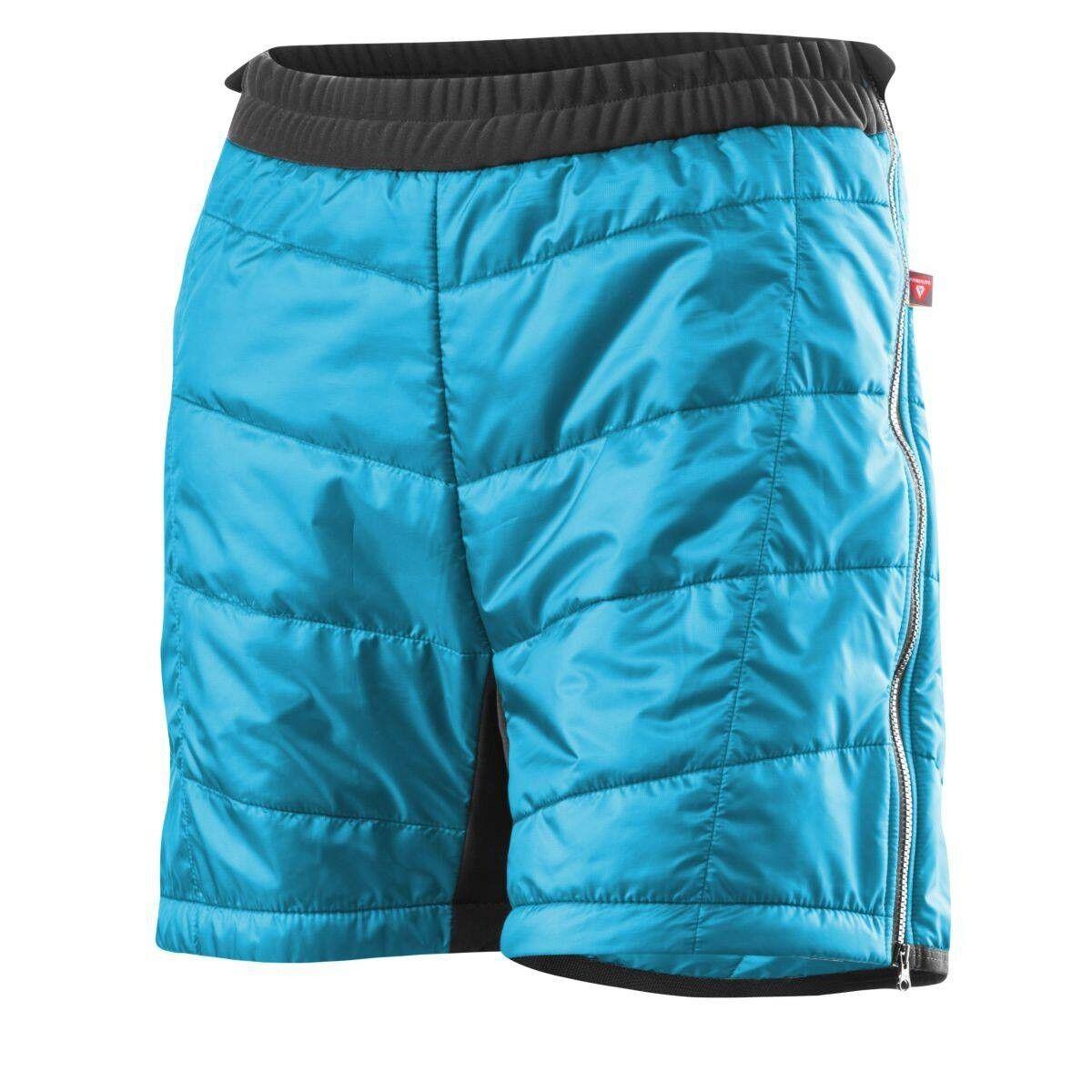 Löffler Shorts Primaloft Mix Damen kurze Funktionshose blau