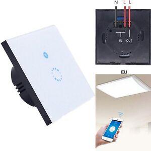 sonoff touch wifi schalter smart home automation lichtschalter wandschalter eu ebay. Black Bedroom Furniture Sets. Home Design Ideas