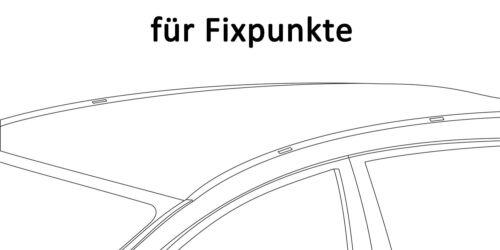 Dachbox VDPBA320L+Stahl Dachträger Original Opel Corsa D 3-5Türer 06-15