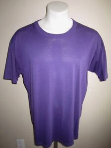 XL-vtg-RUSSELL-ATHLETIC-T-SHIRT-PURPLE-HIPSTER-soft-thin-RARE-50-50-made-in-USA