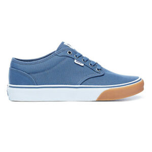2946a8043b7bda Image is loading VANS-NEW-Mens-Atwood-Shoes-Vintage-Indigo-White-
