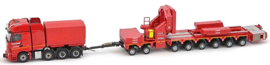 - IMC33-0075 - Camion transport d'éolienne Mercedes-Benz  Actros aux colors du