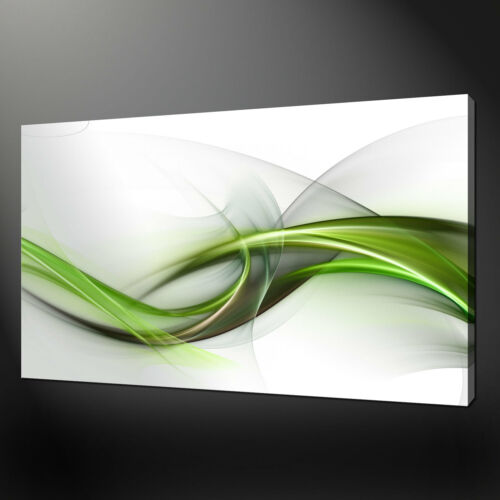 MODERN ABSTRACT WAVES CANVAS PRINT ART MANY SIZES COLOURS READY TO HANG