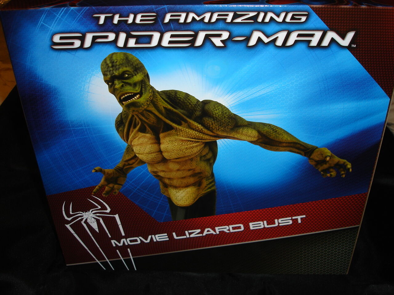 Amazing Spider-Man Lizard Bust - By Diamond Select - New - spiderman