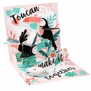 Pop-Up Greeting Card Trearures by Popshots Studios - Toucan Make it Togther