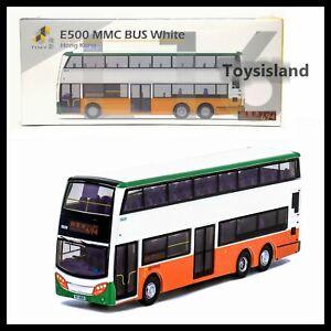 TINY L16 E500 MMC Bus White HONG KONG DIECAST CAR NEW 1//110 694