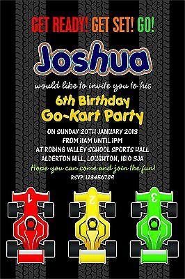 GoKart Birthday Parties collection on eBay