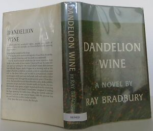 a summary on dandelion wine Biographical synopsis, end 6 pages publisher catalog ray bradbury's own  selection of his best stories (cover) dandelion wine, the.