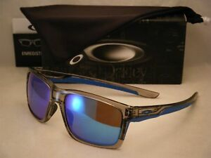 d1687dd424a Image is loading Oakley-Mainlink-Grey-Ink-w-Sapphire-Iridium-Lens-