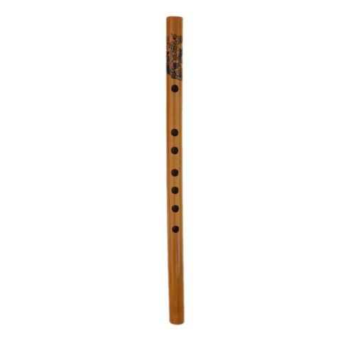 MagiDeal 5 Stücke chinesische Bambusflöte Xiao Holzblasinstrument