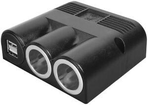 ProCar-Aufbau-Dreifachsteckdose-2-USB-Doppelsteckdose-2-Steckdose-12-24V-max-16A