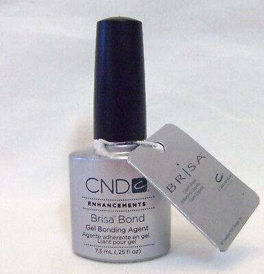 Cnd Creative Nail Brisa Gel Primer Liquid Bond .25oz/7.3ml Attractive Appearance Health & Beauty