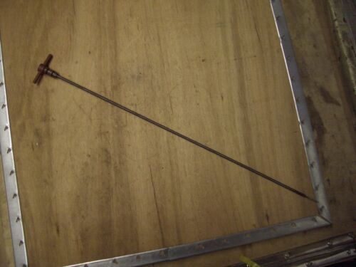 GENUINE LISTER LPW 3cyl MARINE DIPSTICK STAMPED 3 ON THE HANDLE 803-02284