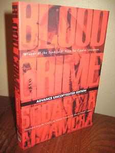 1st-Edition-BLOOD-CRIME-Sebastia-Alzamora-ADVANCE-Uncorrected-Proof-NOVEL
