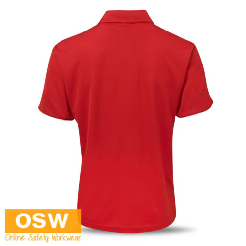 MENS LADIES COOL DRY BREATHABLE TRADIES//OFFICE//WORK//UNIFORMS POLO SHIRTS