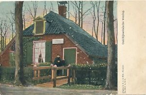 NIJVERDAL-Oud-Nijverdalsche-Woning-Netherlands-udb-pre-1908