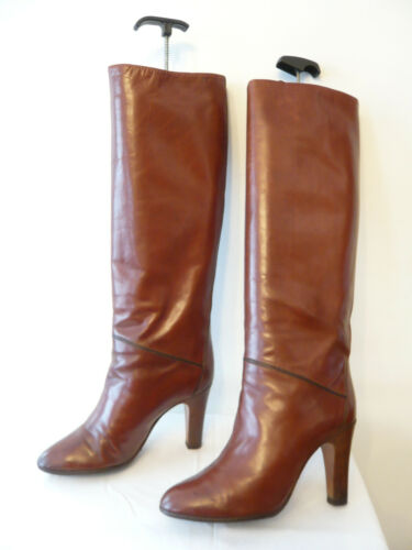 Clyde Boots Italy Vintage gold 37 Iole For 1982 T HxPIp
