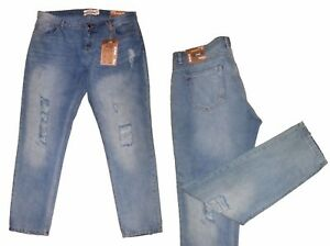 986fe24b705 Women s Jeans Trousers ladies trousers destroyed effects Size 42-46 ...