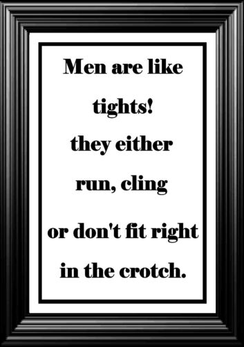 WALL ART A4 POSTER JOKE Have a Laugh Perfect  4 UR MAN Funny Gift   *PRINT ONLY*