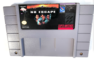 No Escape SUPER NINTENDO SNES GAME Tested ++ WORKING ++ AUTHENTIC!