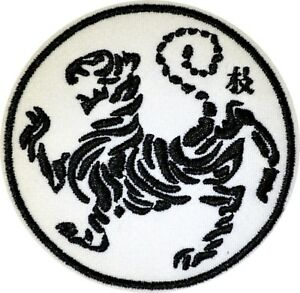 Shotokan Karate Tiger S W/&B IRON ON PATCH Aufnäher Parche brodé patche toppa
